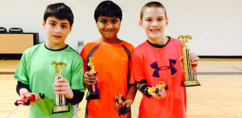 Congratulations Pinewood Derby Winners!