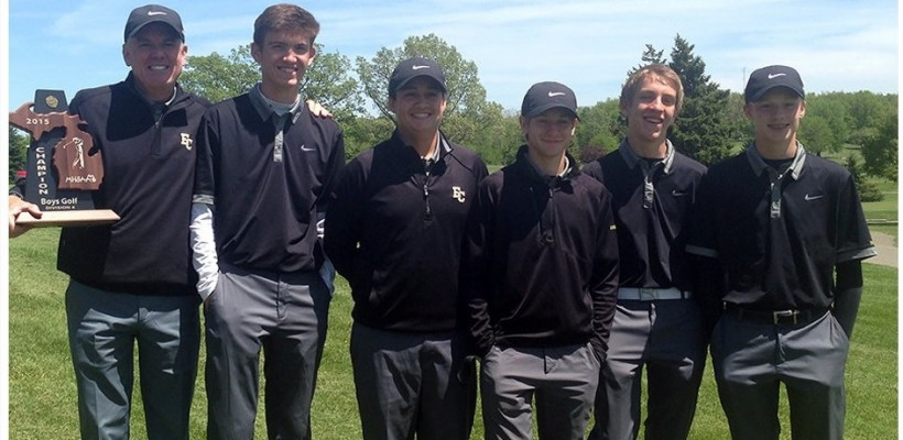 EC Golf Team Wins District Title