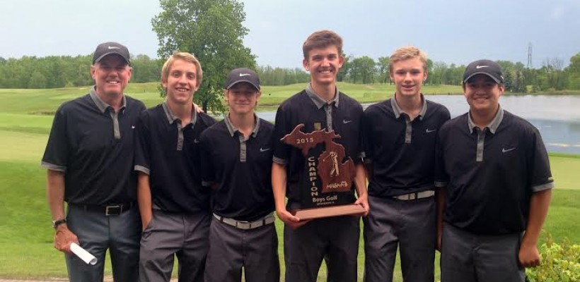 Everest Collegiate Boy's Golf Team wins Regionals for the first time in the school's history!