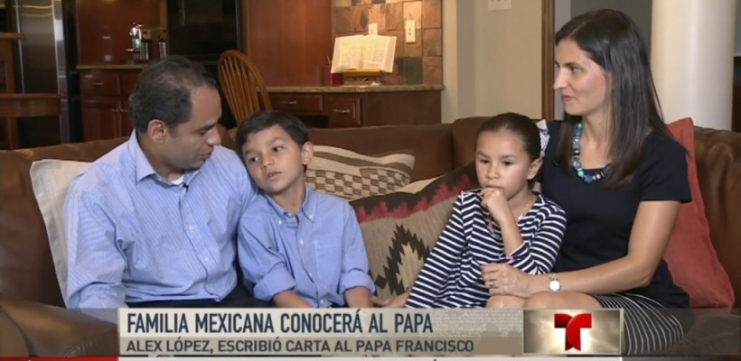 Lopez Family to Present Cross to the Pope