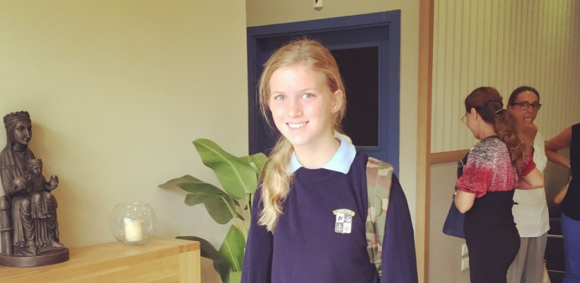 Molly Milosch is attending school in Barcelona, Spain