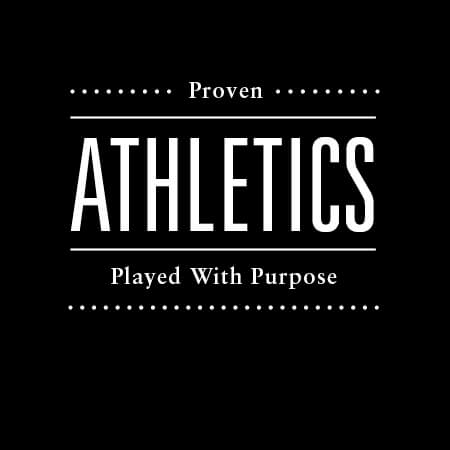 Athletics Played With Purpose