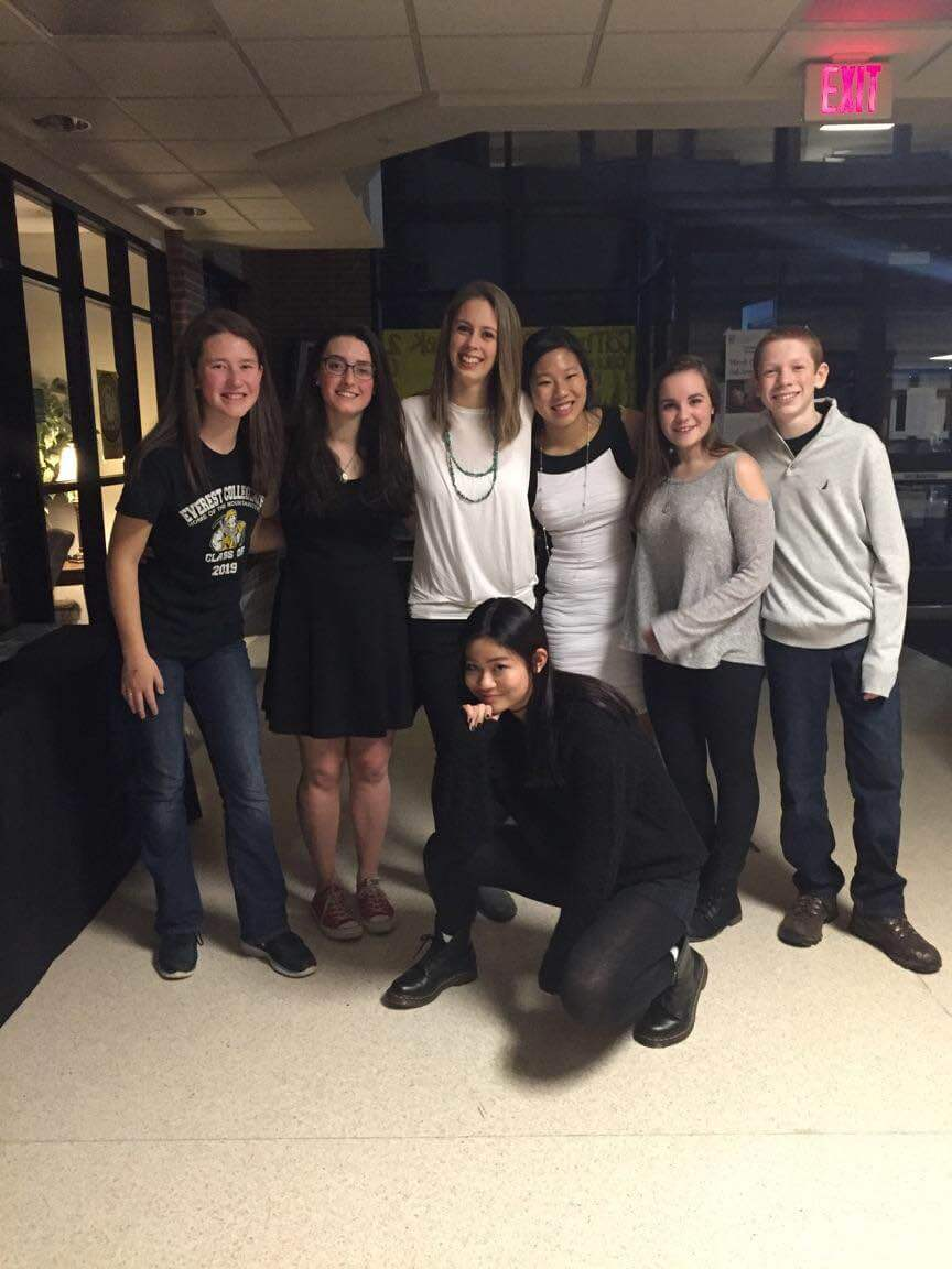 High School students ended the week with the EC Winter Dance on Saturday Night.