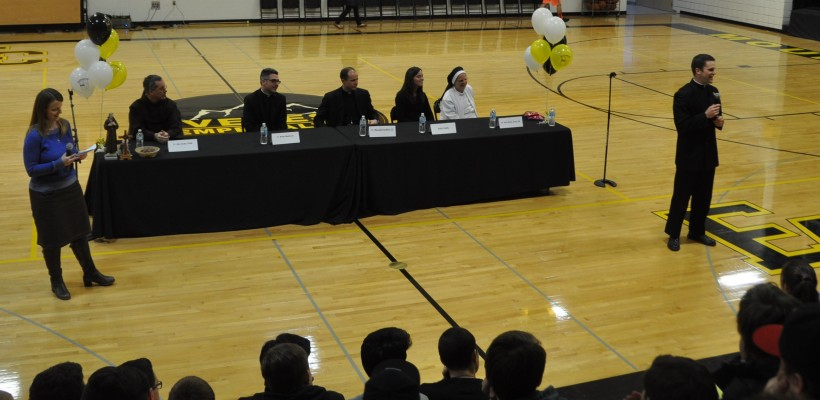 Vocations Assembly Highlights Religious Life