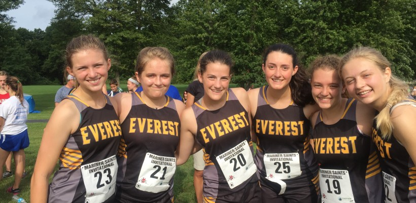 EC Cross Country team has successful first meet