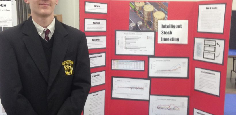 Alex Czarnecki Places 2nd in Detroit Science and Engineering Fair