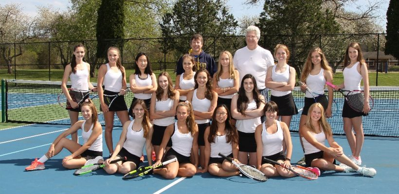 EC Girls Tennis Captures First CHSL Tournament Championship
