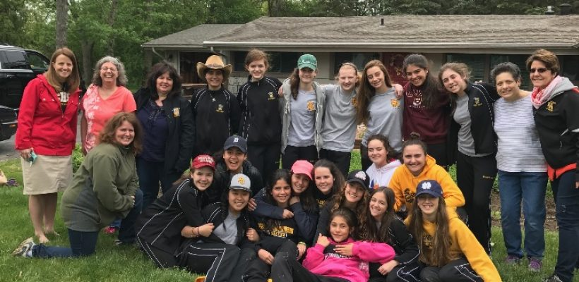EA Girls Serve at Angels' Place