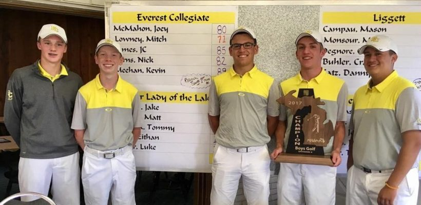 Third Straight Regional Championship -for EC Boys Golf Team