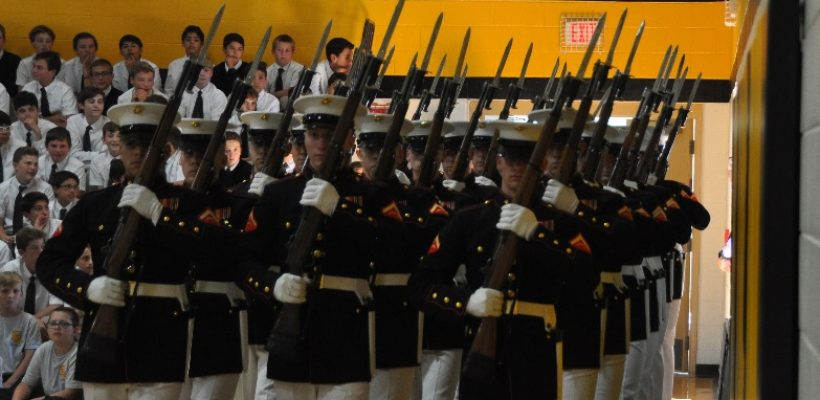 Learning Professionalism and Discipline from the Marines