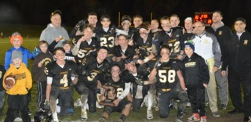 EC Mountaineer Football Wins District Title
