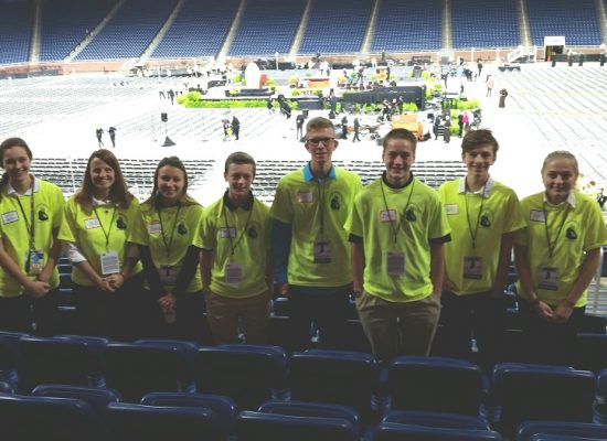 Everest Students Are Volunteers at Beatification Mass for Fr. Solanus Casey