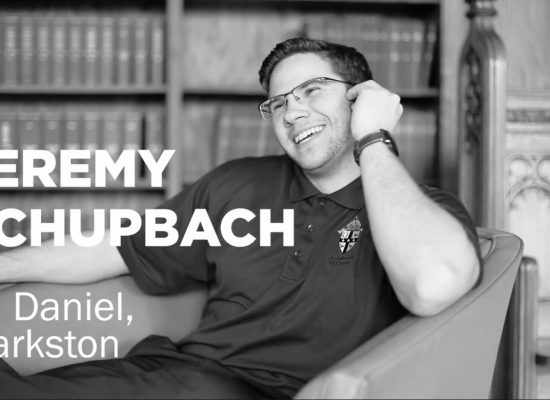 EC Alum Jeremy Schupbach Discusses His Calling to the Priesthood