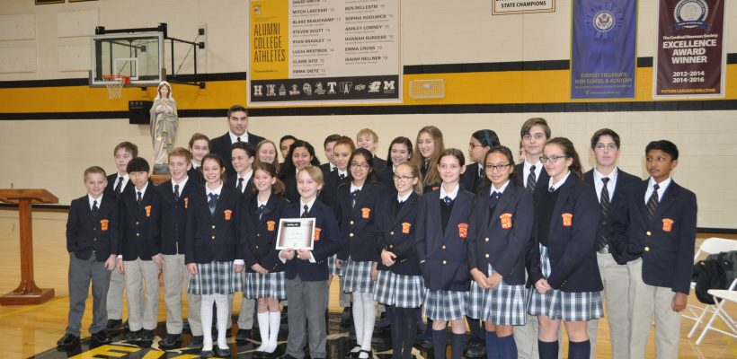 Spelling Bee Finalists for 2018