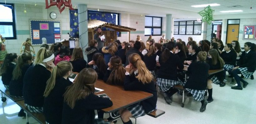EA and EC Girls Learn of Upcoming Weekend Opportunities