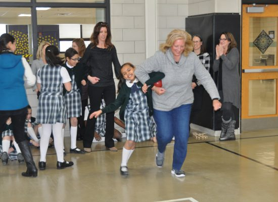 Fun at Fifth-Grade Mother and Child Retreat