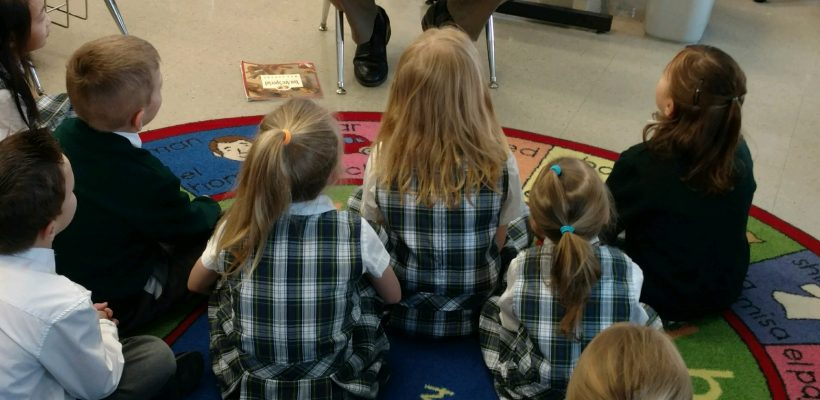 Guest Readers in Kindergarten