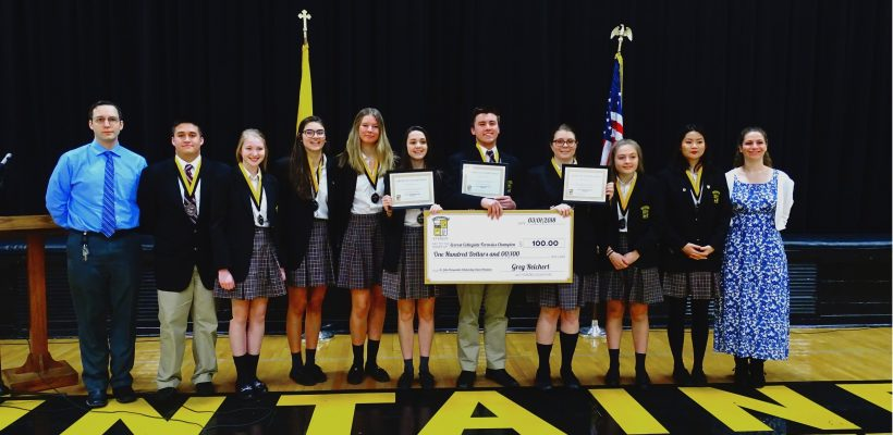 New Scholarship Recognizes Forensics Excellence