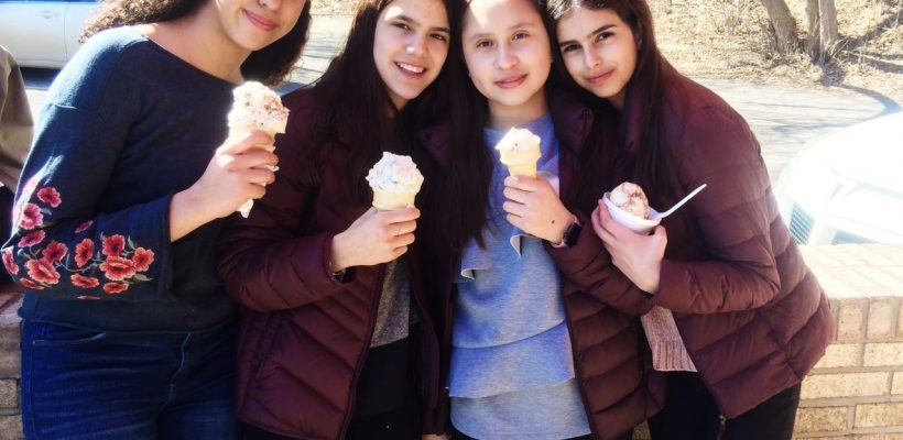 International Students Enjoy Easter Break