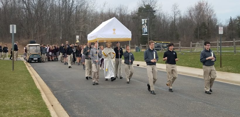 Annual Eucharistic Procession