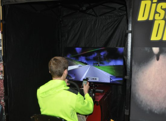 Students Learn about Safe Driving