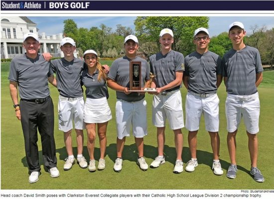 Everest Wins Golf Catholic League Championship in Division 2