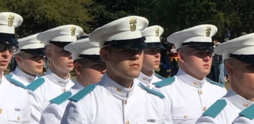 Gunther Schultz at Citadel's Recognition Day