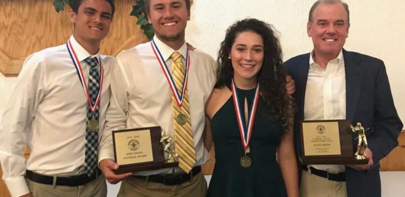 EC Coach and Athletes Honored
