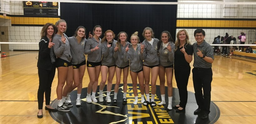 EC Volleyball Wins West Division