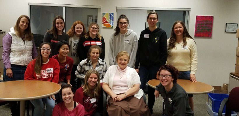 Seniors Reflect on Apostolic Activity