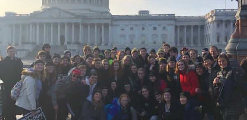 EC Students March for Life