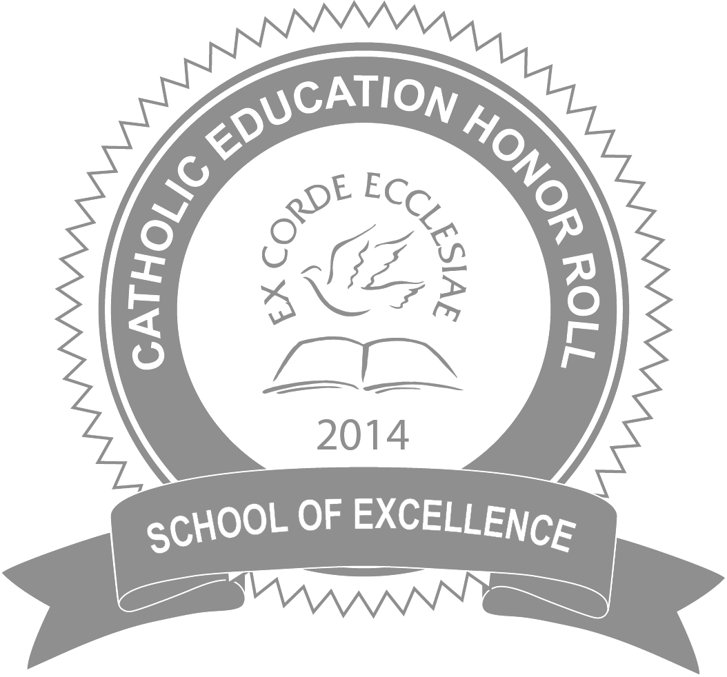 Catholic education honor roll logo
